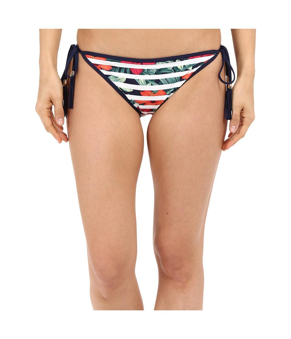 Tommy Bahama Show Your Stripes String Bikini w/ Tassels (Multicolor) Women