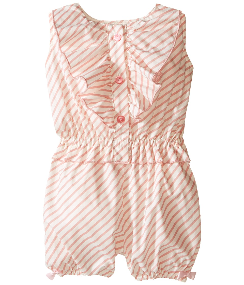 fiveloaves twofish - Candy Romper (Infant) (Light Pink) Girl's Jumpsuit & Rompers One Piece