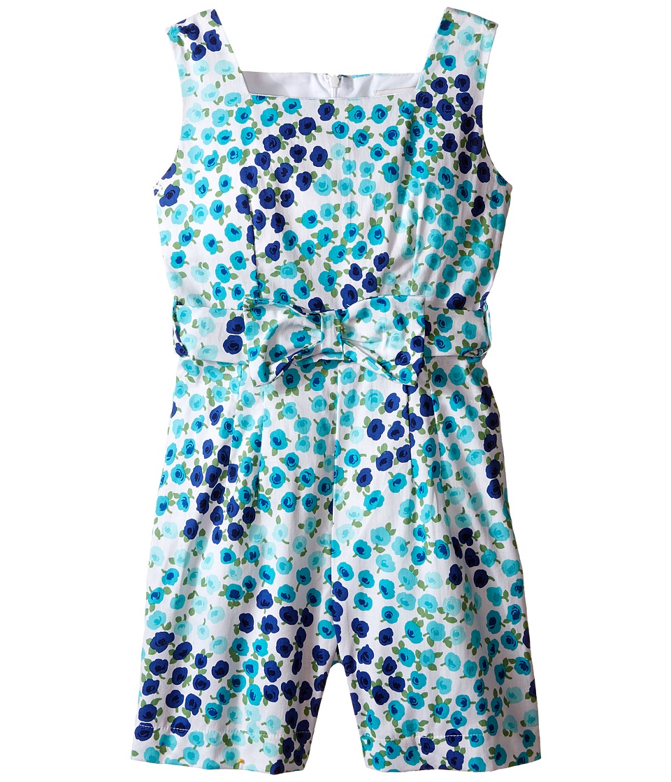 fiveloaves twofish - Rockaway Rose Romper (Little Kids/Big Kids) (Blue) Girl's Jumpsuit & Rompers One Piece