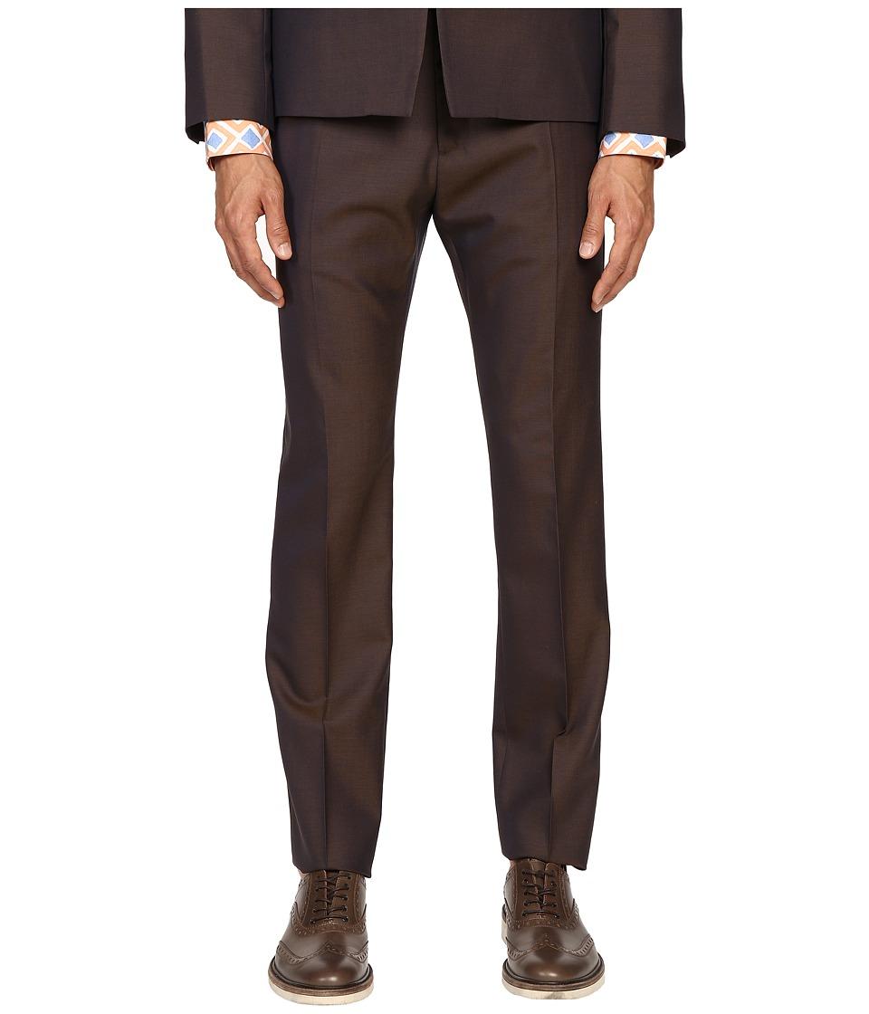 Vivienne Westwood - Basic Wool Classic Trousers (Blue/Green) Men's Casual Pants