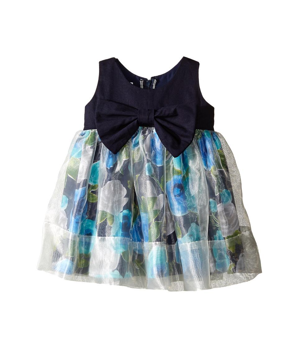 fiveloaves twofish - Little Paint Them Dress (Toddler/Little Kids) (Blue) Girl's Dress