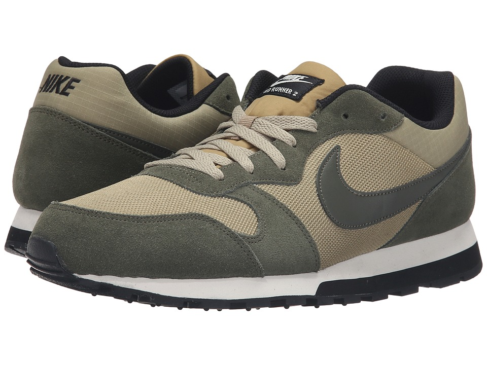 Nike - MD Runner 2 (Neutral Olive/Cargo Khaki/Black/Sail) Men's Classic Shoes