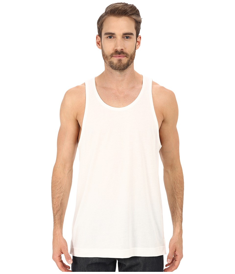 Alternative - Cotton Modal Transitional Tank Top (White) Men's Sleeveless
