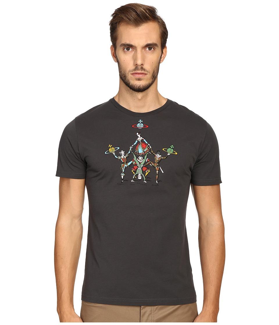 Vivienne Westwood - Tumblers T-Shirt (Charcoal) Men's T Shirt