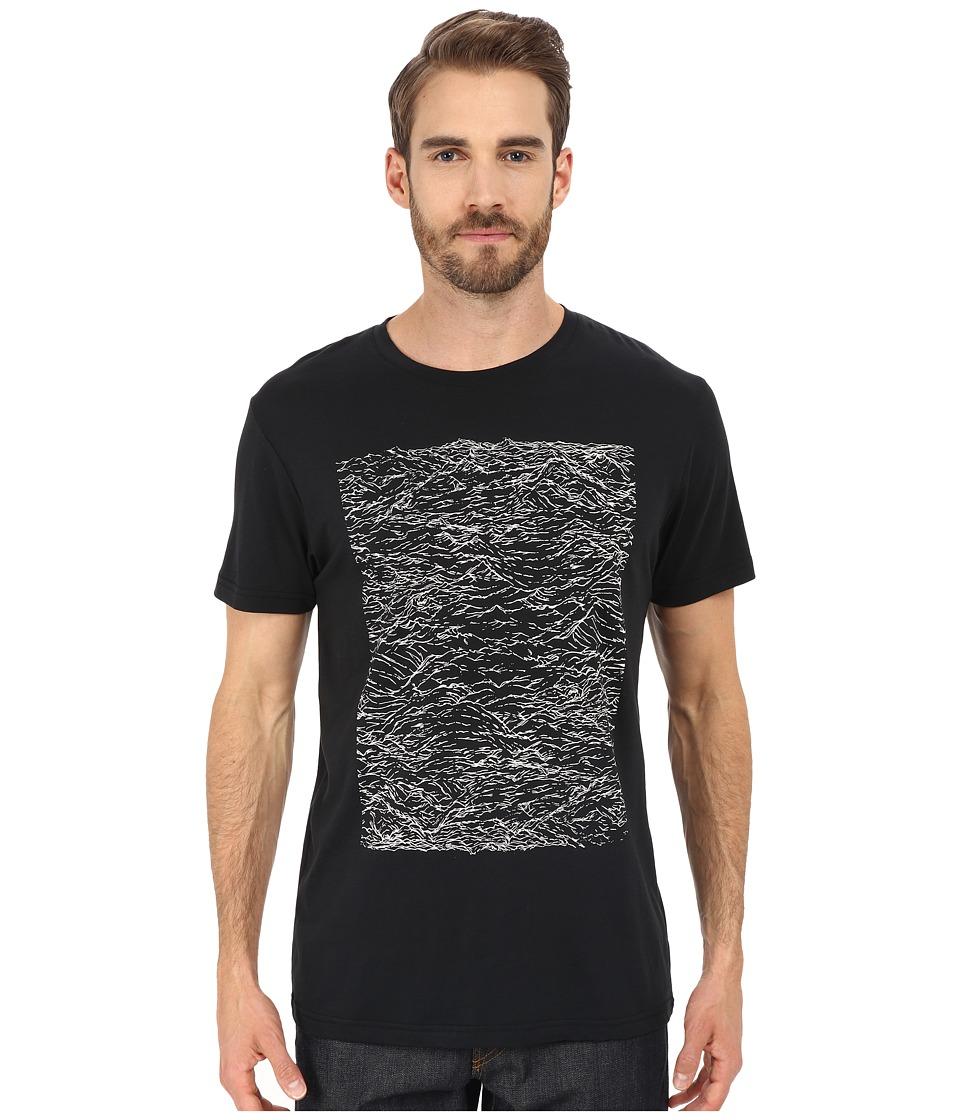 Alternative - Cotton Modal Crew (Black Riptide) Men's T Shirt