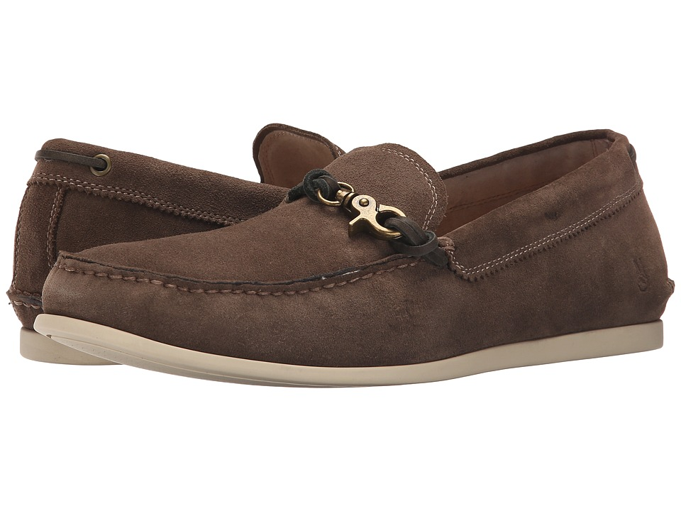 John Varvatos - F1539R2B A12B 220 (Clay Brown) Men's Slip on Shoes