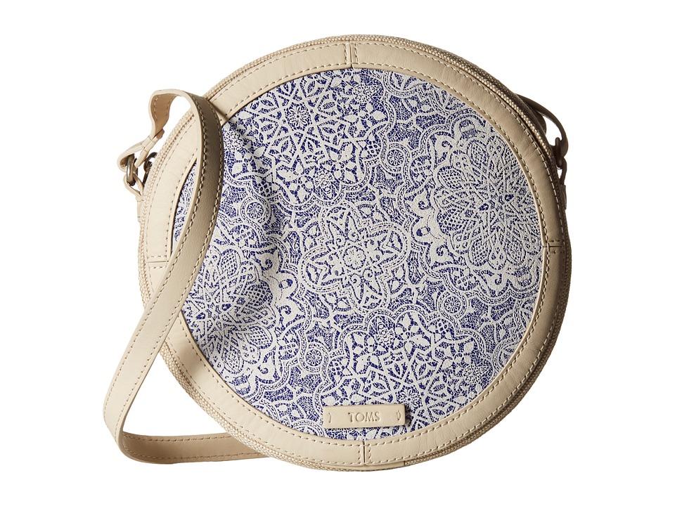 TOMS - Tiles Printed Crossbody (Natural) Cross Body Handbags