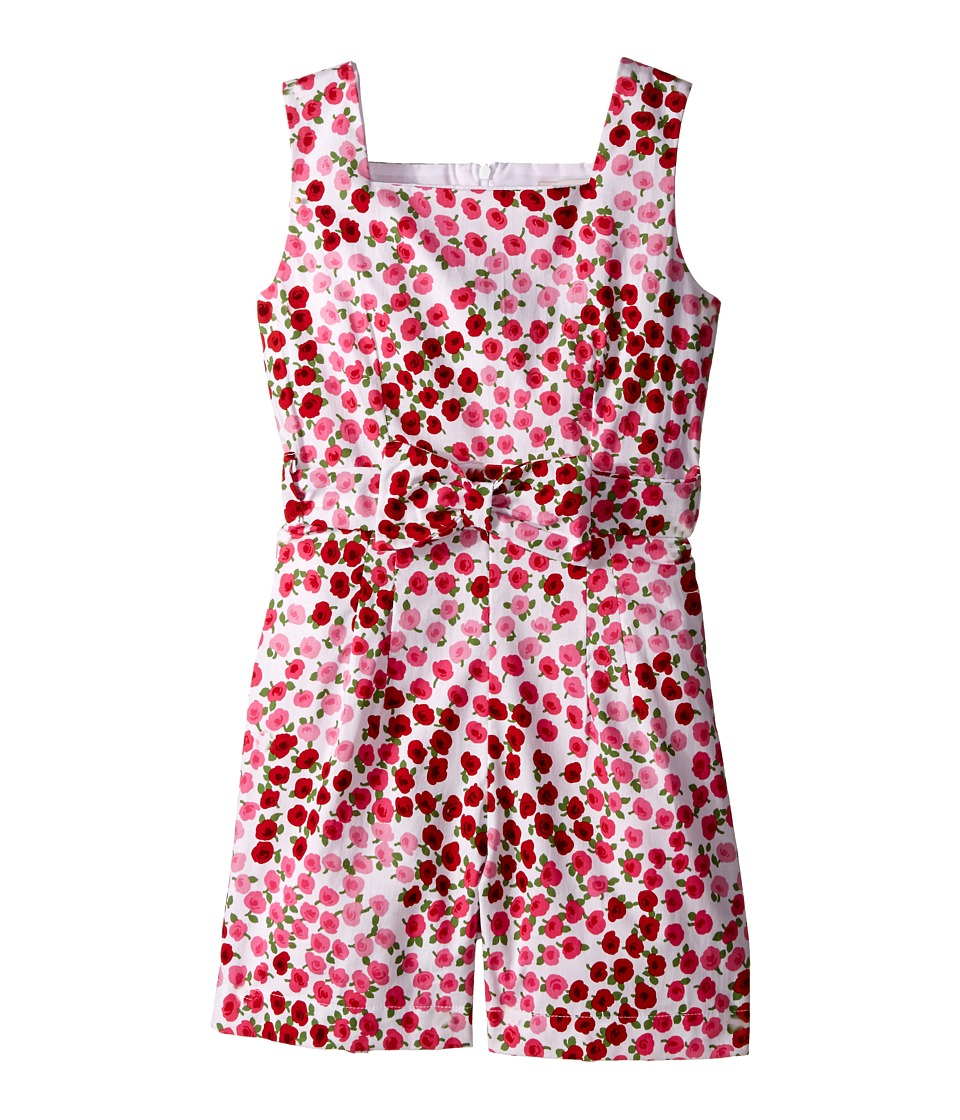 fiveloaves twofish - Rockaway Rose Romper (Little Kids/Big Kids) (Red) Girl's Jumpsuit & Rompers One Piece