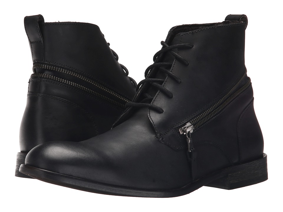 John Varvatos - F1955R4B A65B 001 (Black) Men's Boots