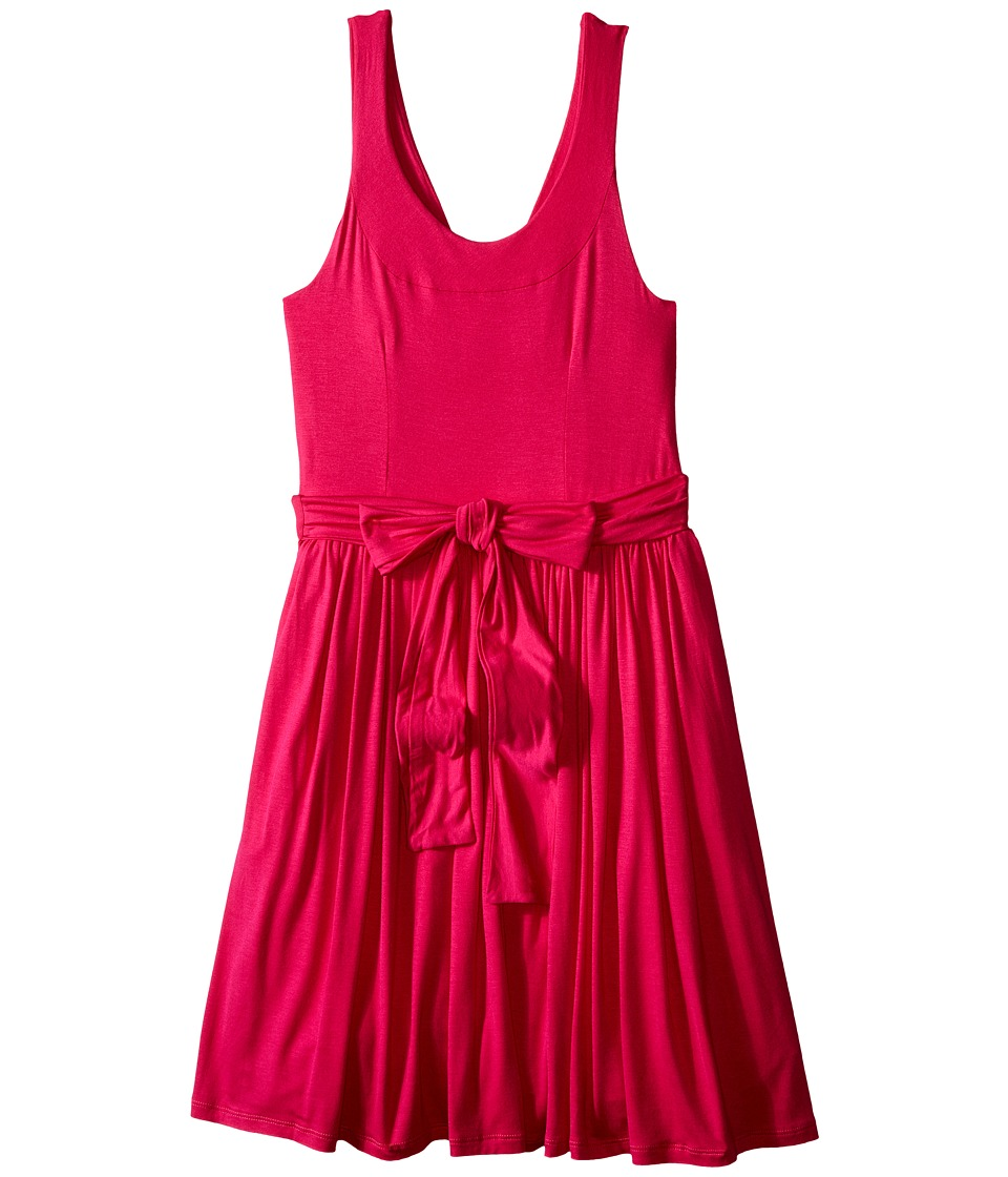 fiveloaves twofish - Jersey Wrap Dress (Little Kids/Big Kids) (Coral/Pink) Girl's Dress