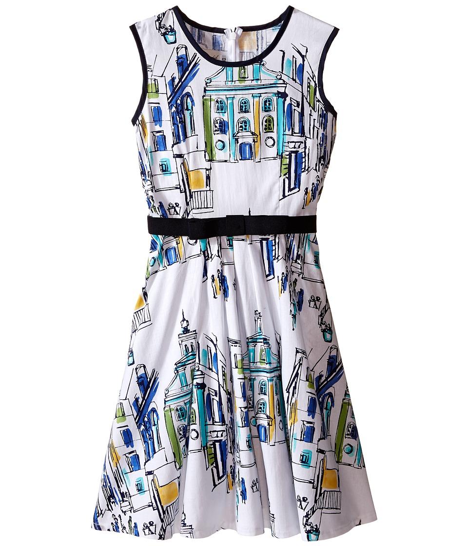 fiveloaves twofish - St. Tropez Dress (Little Kids/Big Kids) (Multi) Girl's Dress