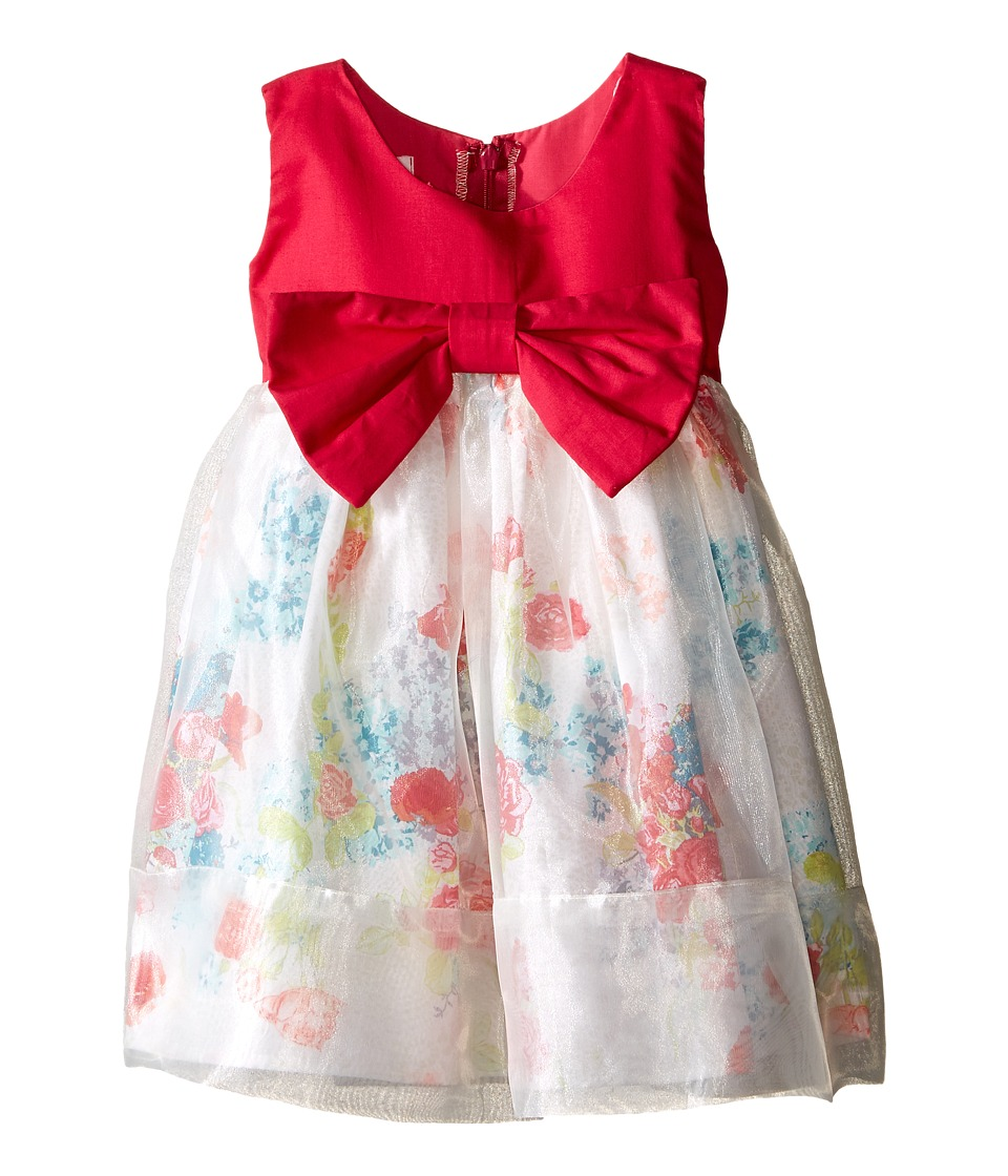 fiveloaves twofish - Little Paint Them Pink Dress (Toddler/Little Kids) (Pomegrante) Girl's Dress