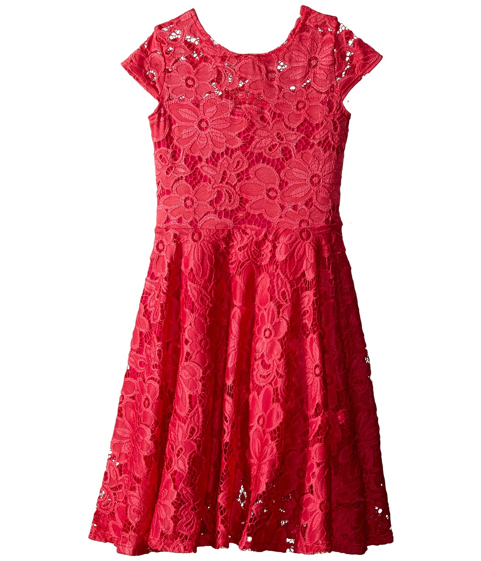 fiveloaves twofish - Aurora Dress (Little Kids/Big Kids) (Hot Pink) Girl's Dress