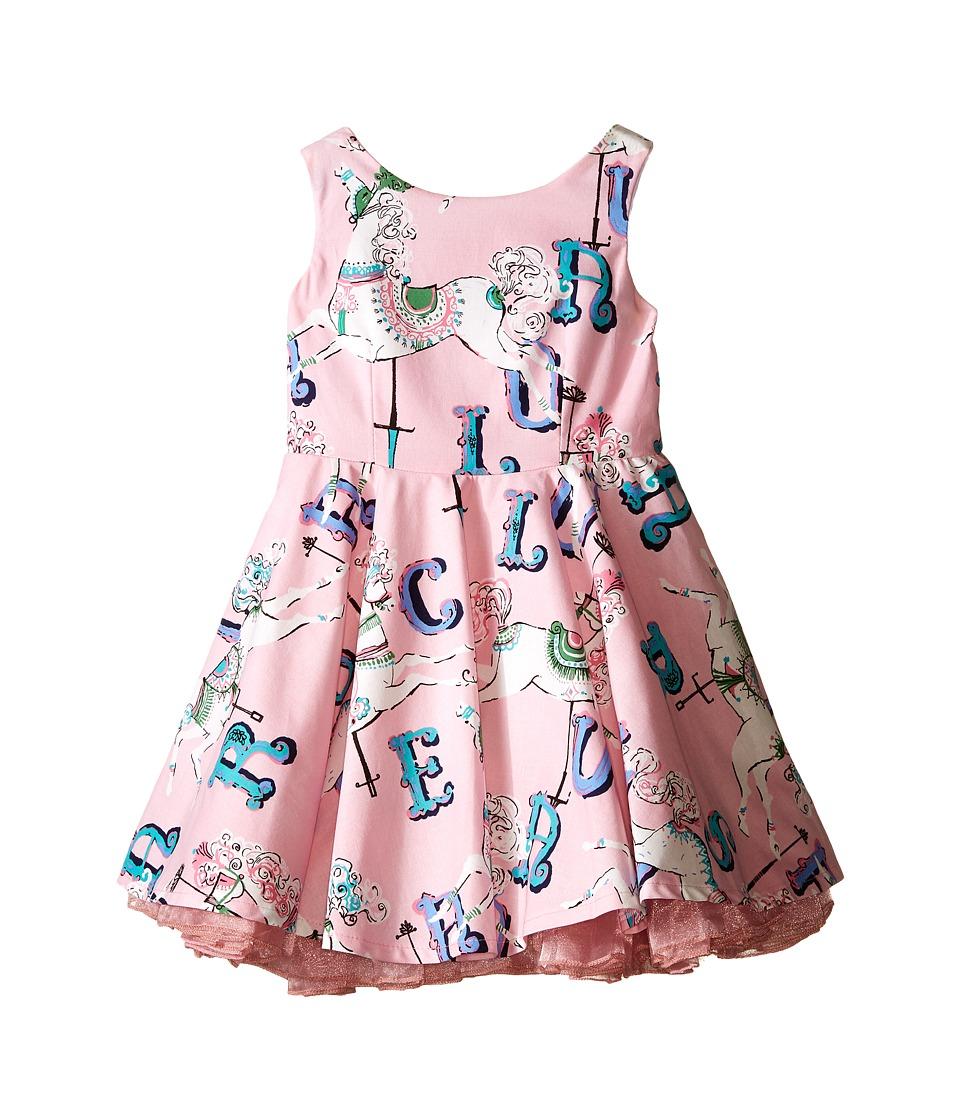 fiveloaves twofish - Little Carousel Dress (Toddler/Little Kids/Big Kids) (Pink) Girl's Dress