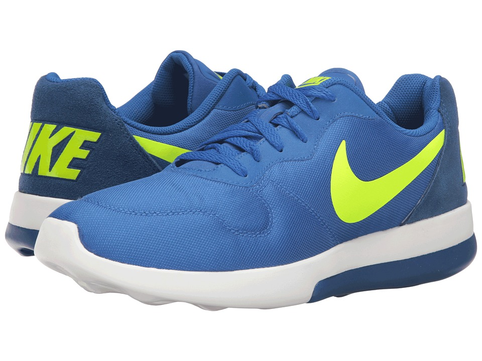 Nike - MD Runner 2 LW (Varsity Royal/Volt/Coastal Blue) Men's Running Shoes