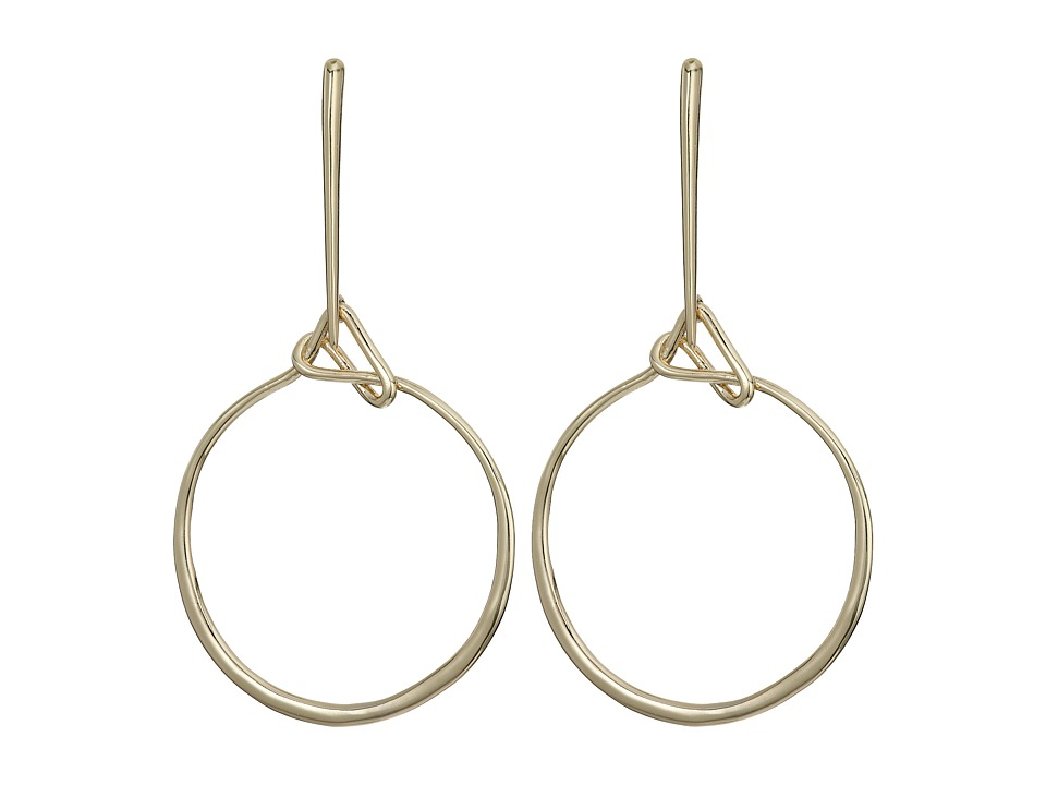 Alexis Bittar - Liquid Lasso Drop Post Earrings (10K Gold) Earring