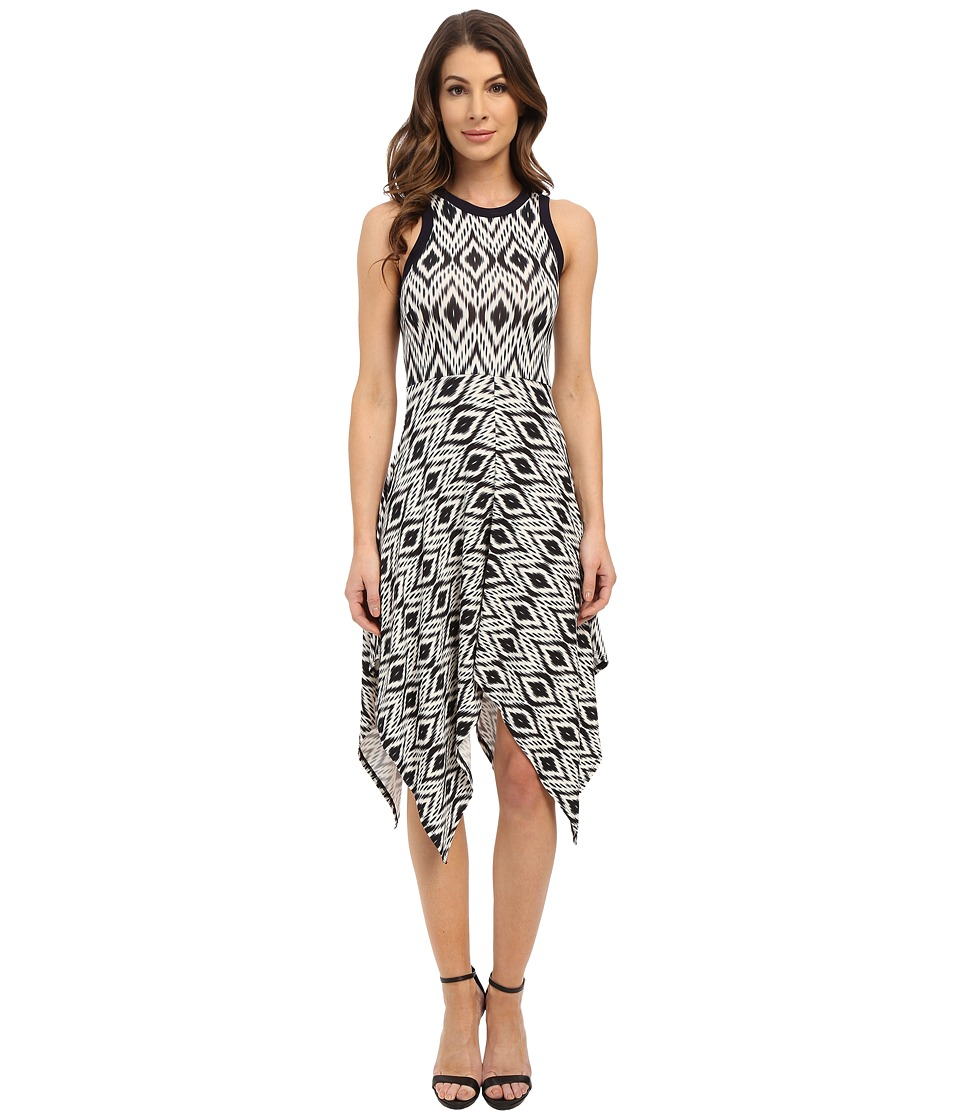 Karen Kane Handkerchief Hem Tank Dress (Print) Women