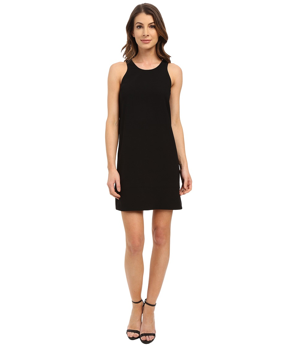 Karen Kane - Sleeveless Racerback Shift Dress (Black) Women's Dress