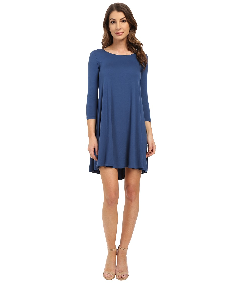 Karen Kane - Maggie Trapeze Dress (Marine Blue) Women's Dress