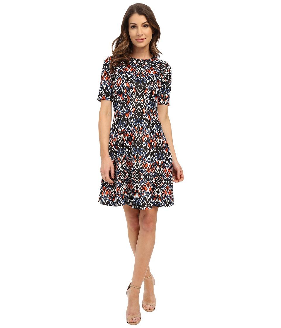 Karen Kane - Mirage Print Scuba Dress (Print) Women's Dress