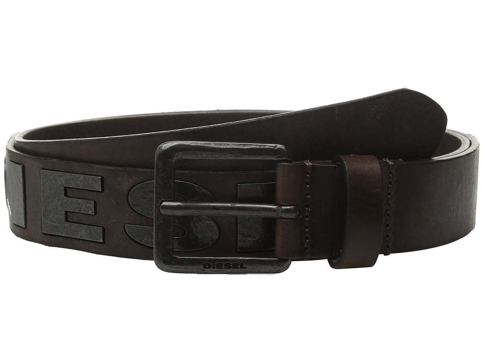 Diesel Bold Belt (Coffee) Men