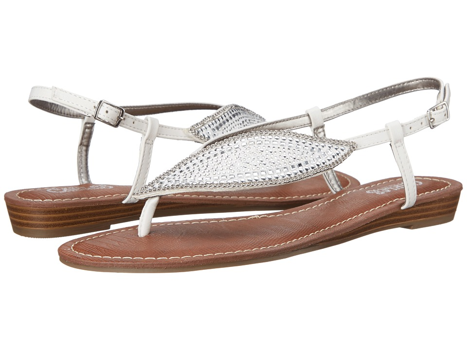 CARLOS by Carlos Santana - Laverne (White) Women's Sandals