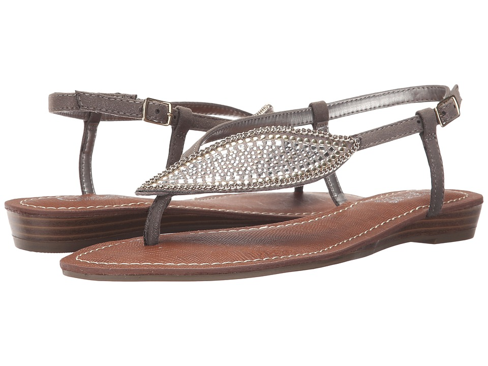 CARLOS by Carlos Santana - Laverne (Pewter) Women's Sandals