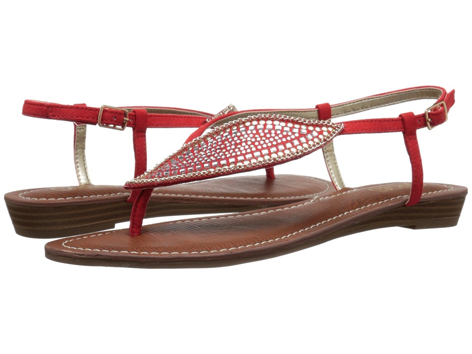 CARLOS by Carlos Santana - Laverne (Spicy Coral) Women's Sandals