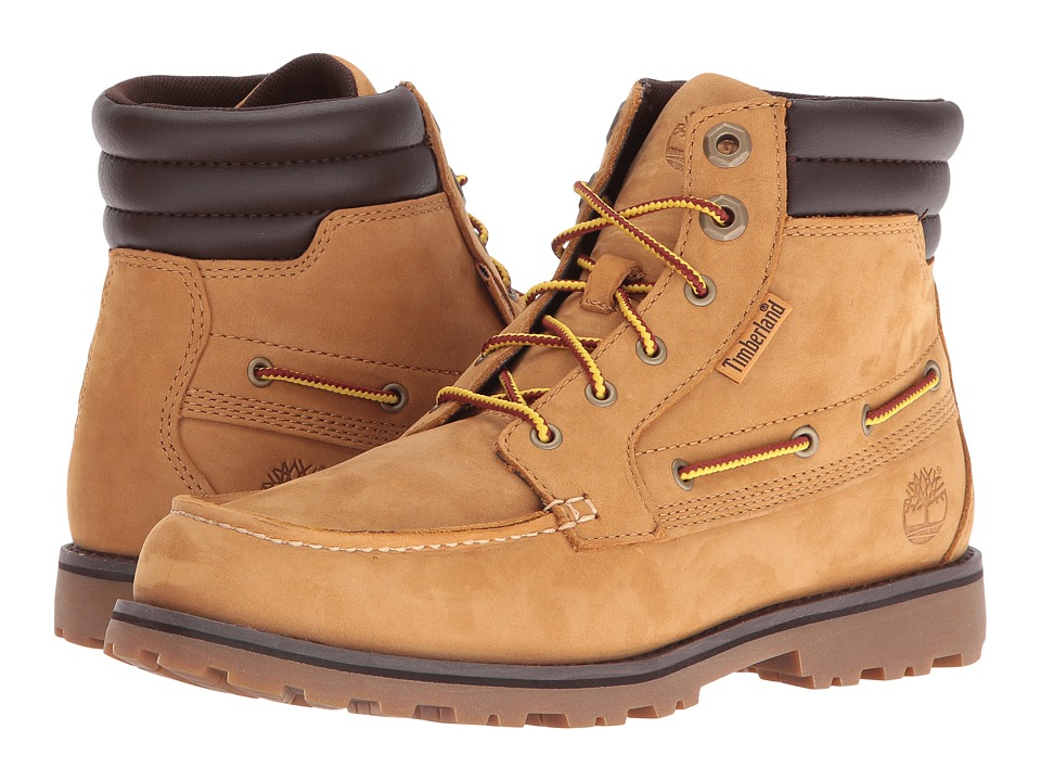 Timberland Kids - Oakwell Boot (Toddler/Little Kid) (Wheat Nubuck) Kid's Shoes