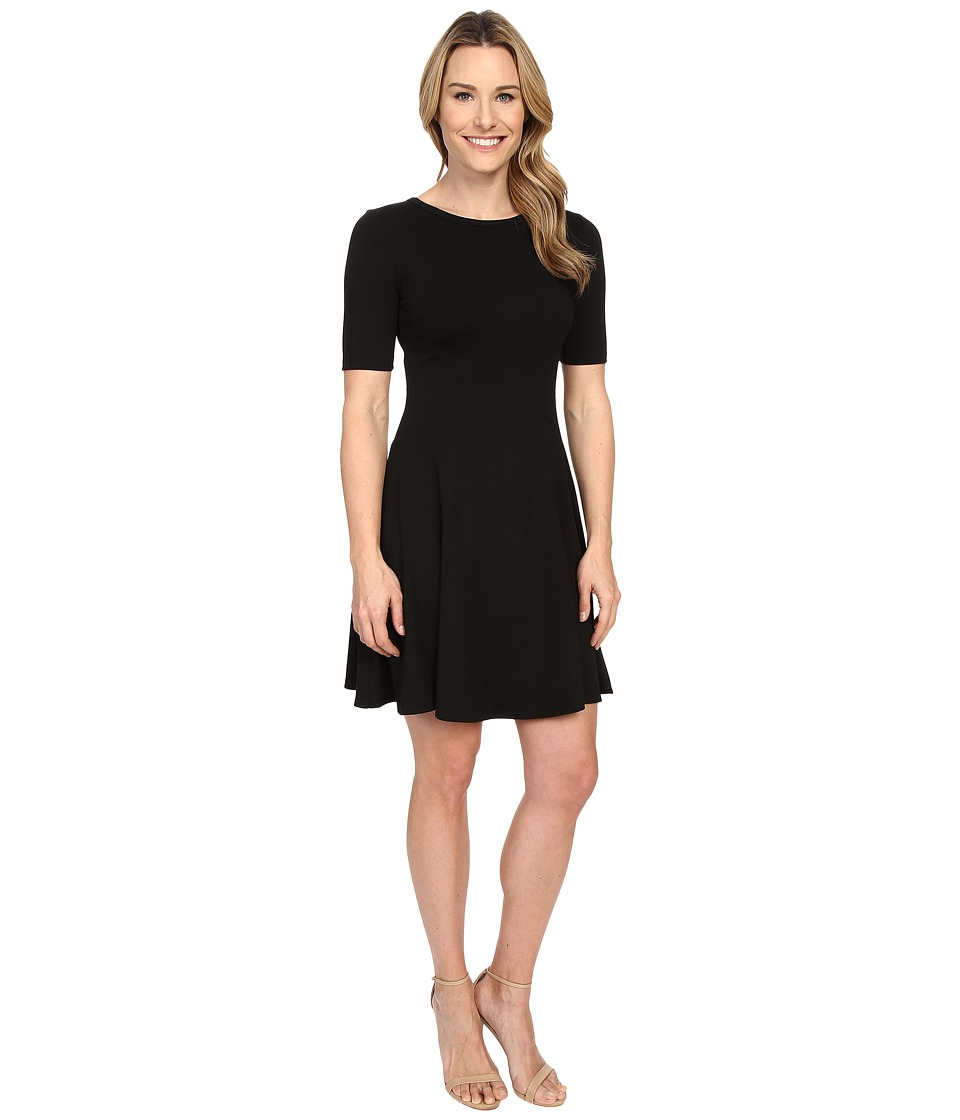 Karen Kane - Michelle Flared Dress (Black) Women's Dress