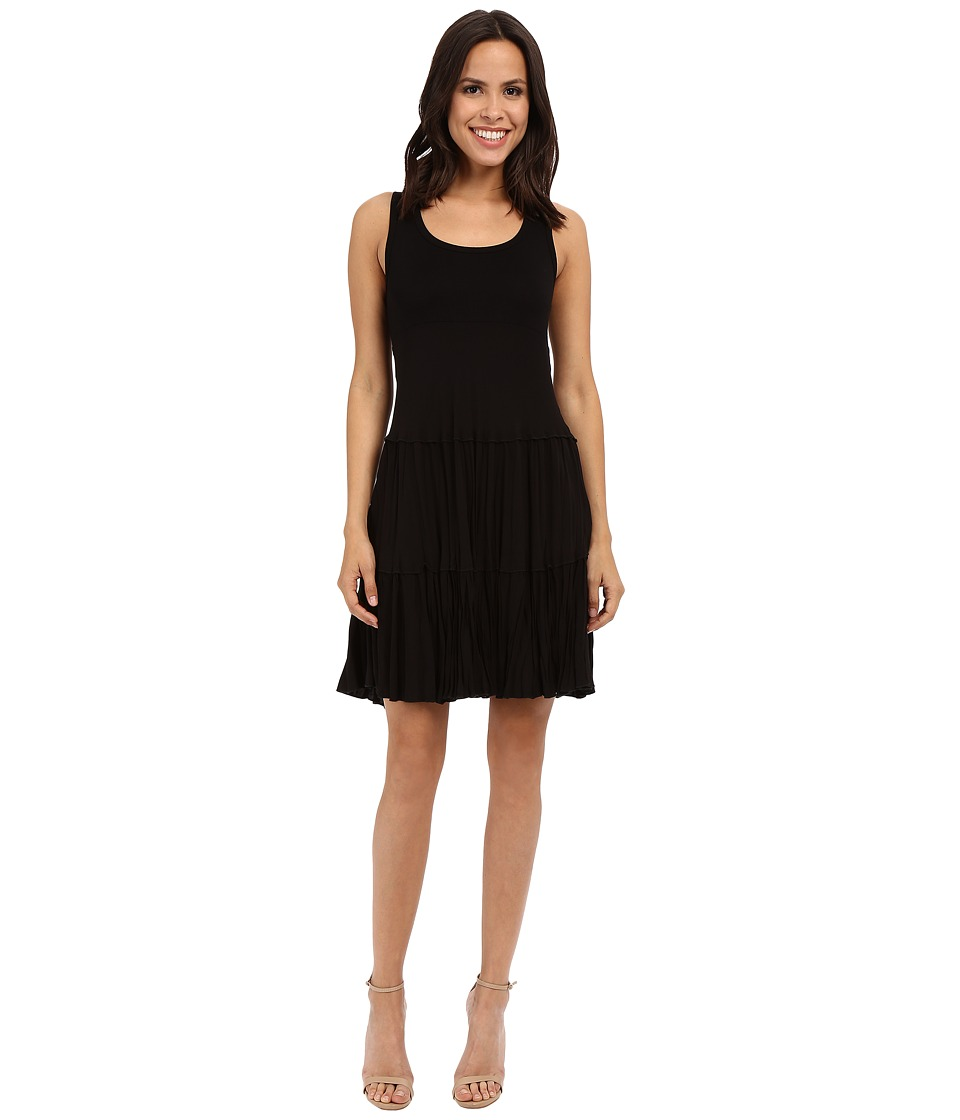Karen Kane - Allie Tiered Dress (Black) Women's Dress