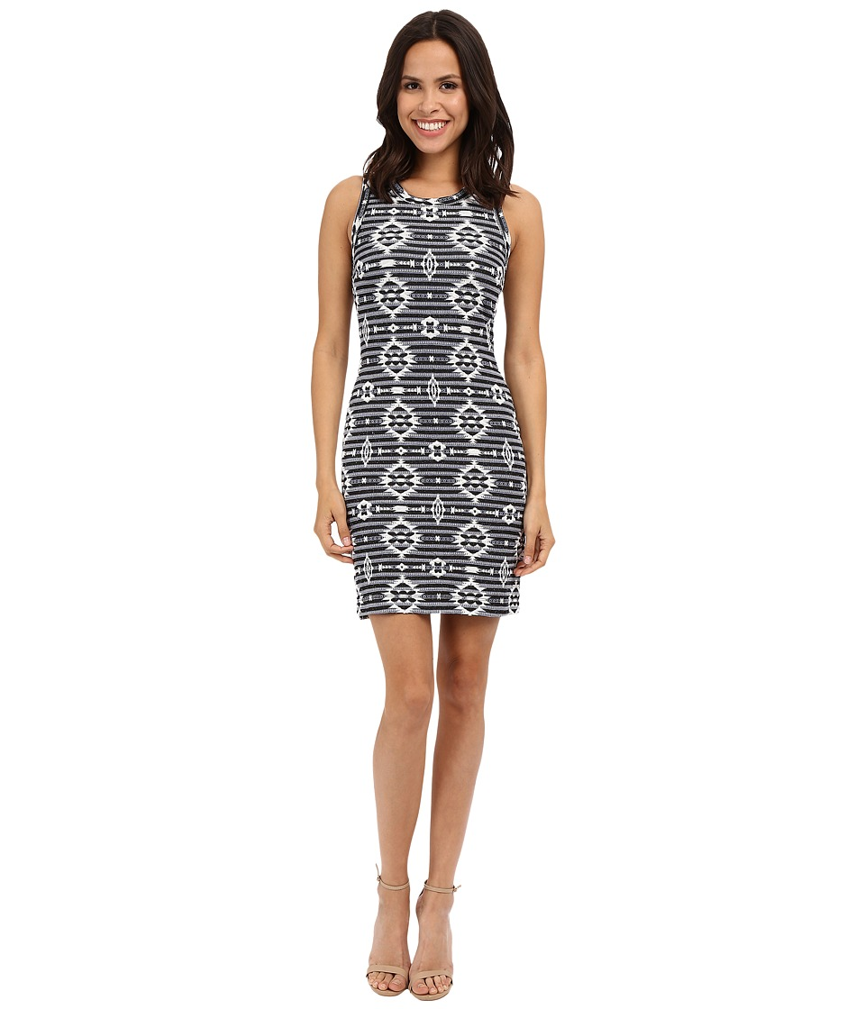 Karen Kane Knit Jacquard Dress (Print) Women