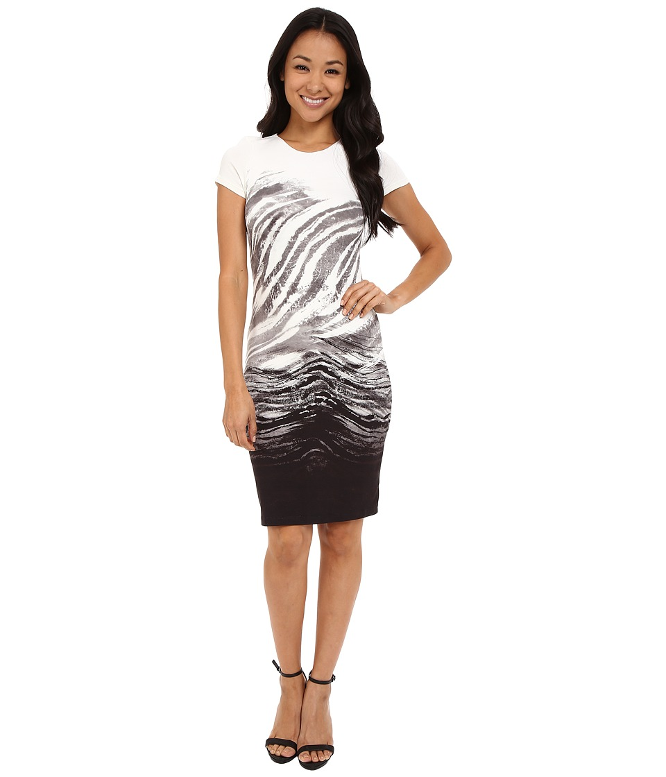Karen Kane - Ombre Graphic Sheath Dress (Print) Women's Dress