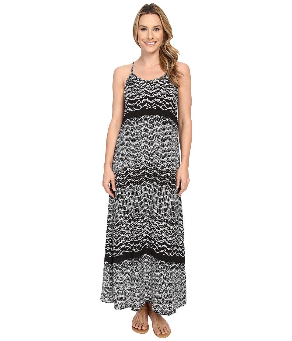 Karen Kane - T-Back Maxi Dress (Print) Women's Dress