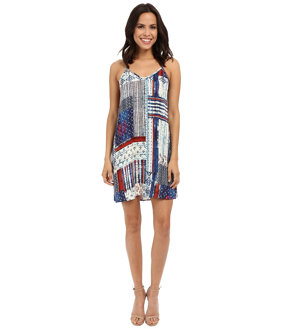 Karen Kane - Patchwork Print T-Back Dress (Print) Women's Dress