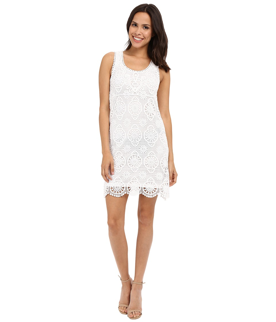 Karen Kane Crochet Lace Dress (Off-White) Women