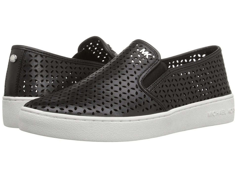 MICHAEL Michael Kors - Olivia Slip-On (Black Vachetta 1) Women's Slip on Shoes