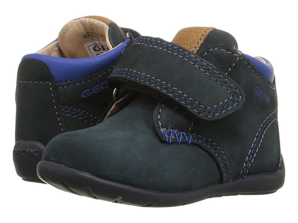 Geox Kids - Baby Kaytan Boy 21 (Infant/Toddler) (Navy) Boy's Shoes