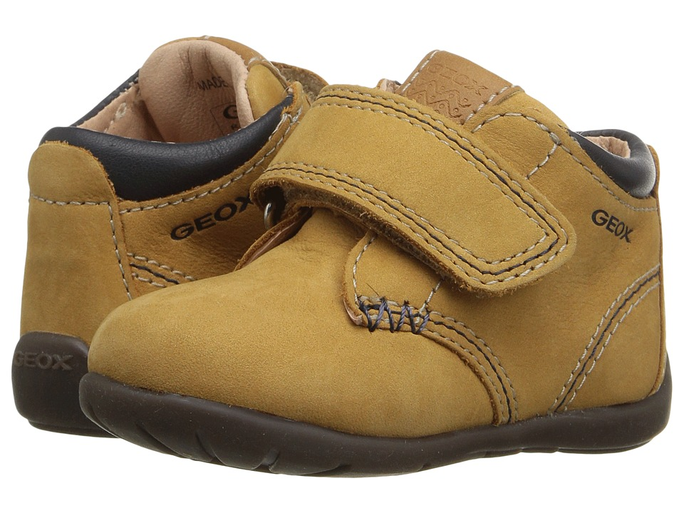 Geox Kids - Baby Kaytan Boy 21 (Infant/Toddler) (Biscuit) Boy's Shoes