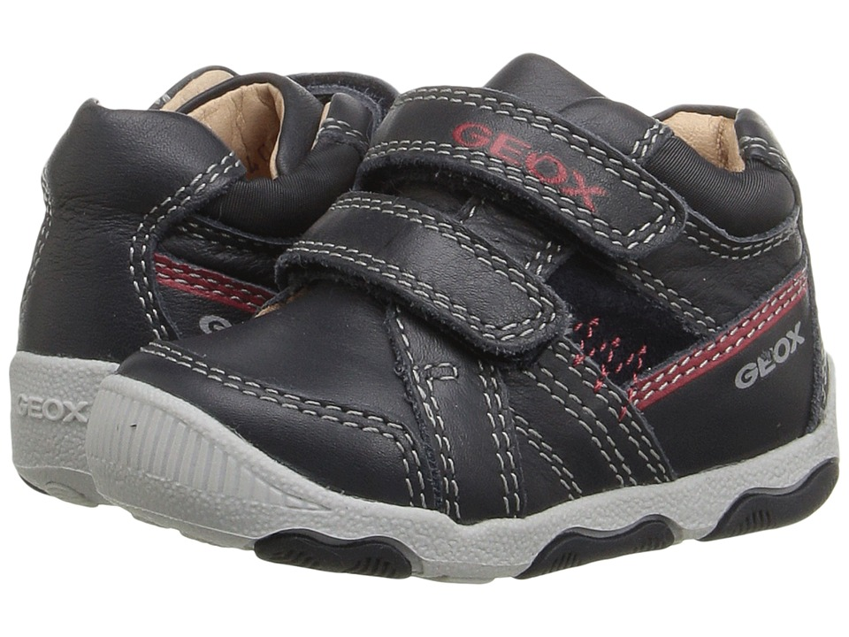 Geox Kids - Baby New Balu Boy 1 (Infant/Toddler) (Navy) Boy's Shoes