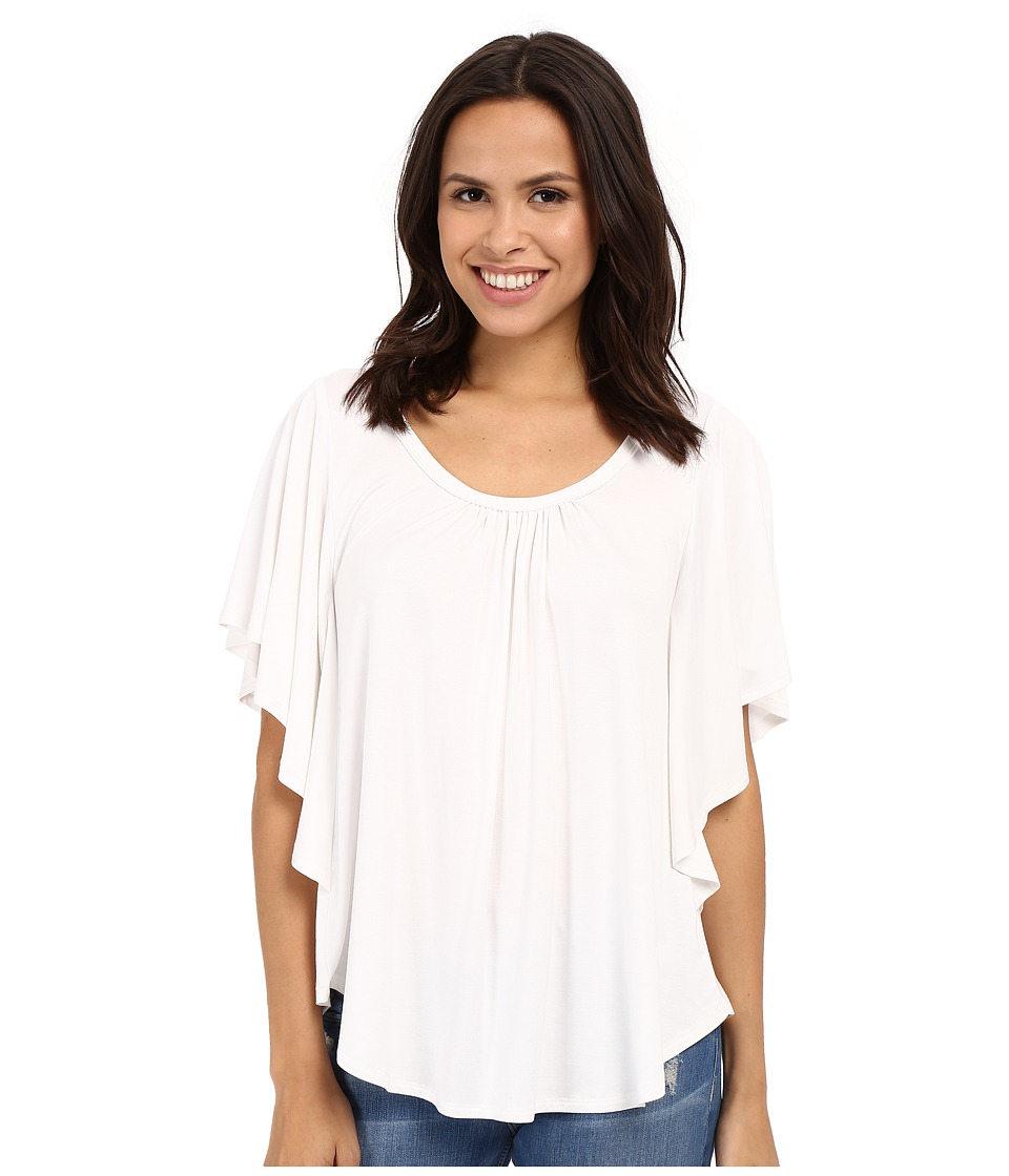 Karen Kane - Angel Top (Off-White) Women's Clothing