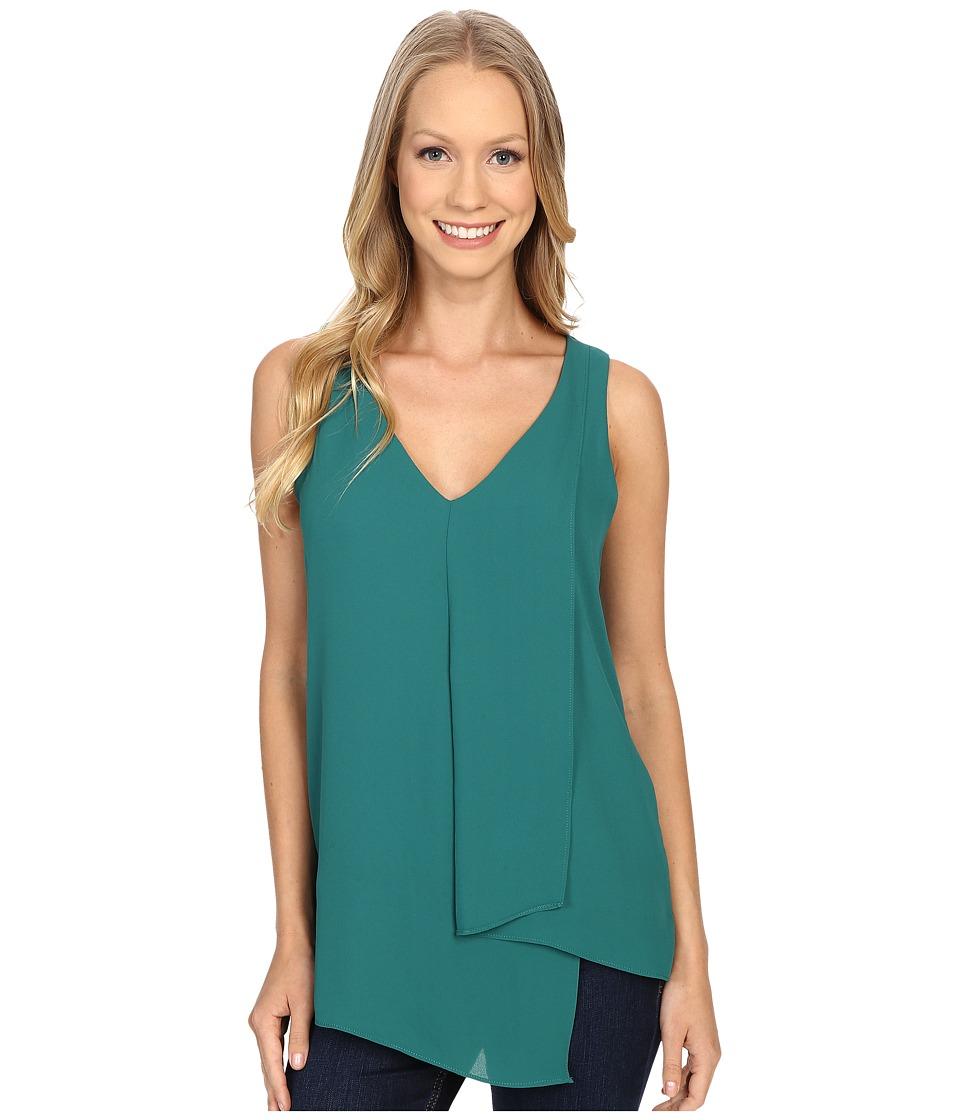 Karen Kane - Drape Angle Top (Green) Women's Blouse