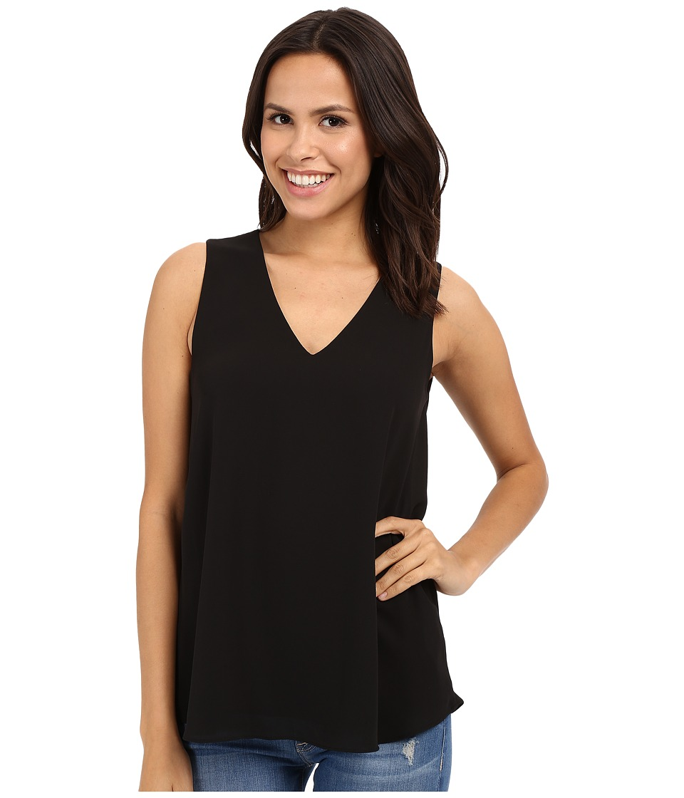 Karen Kane - Sleeveless Draped-Back Top (Black) Women's Sleeveless