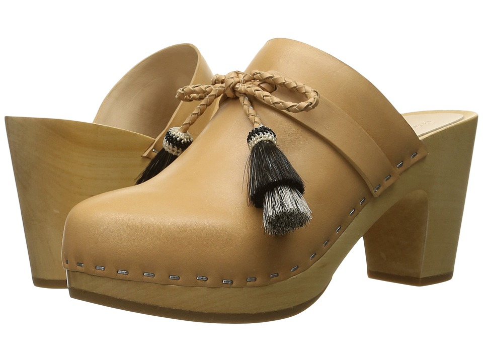 Loeffler Randall Hadley (Natural Vachetta/Black Natural Horse Hair) Women