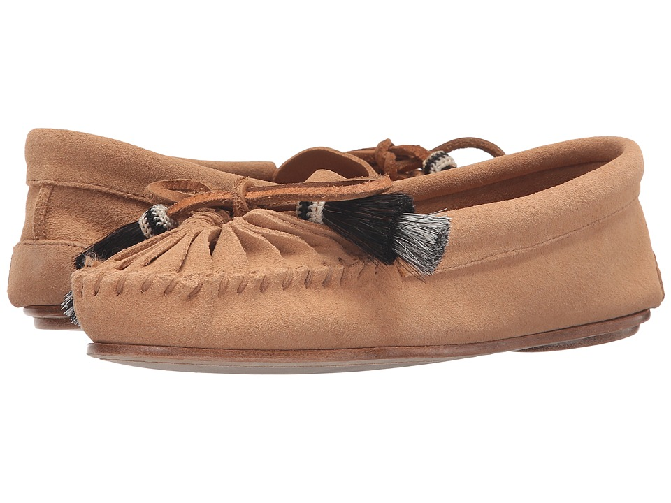 Loeffler Randall - Lois (Nude Split Suede/Black Natural Horse Hair) Women's Shoes