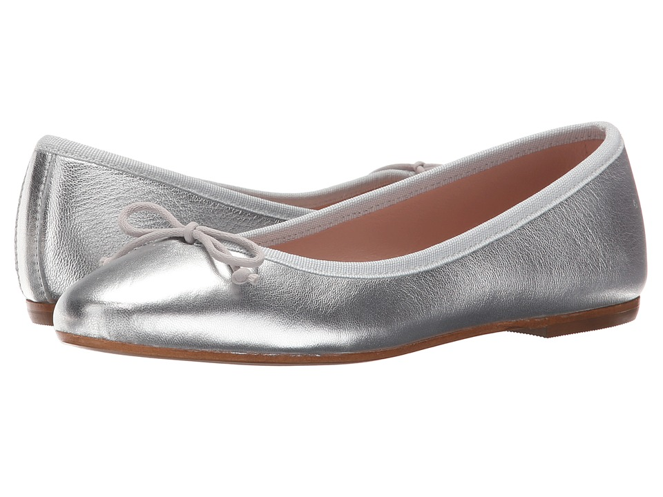 Summit by White Mountain - Kendall (Silver Metallic Leather) Women's Slip on Shoes