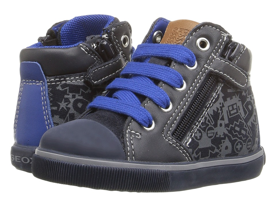 Geox Kids - Baby Kiwi Boy 79 (Toddler) (Royal/Navy) Boy's Shoes