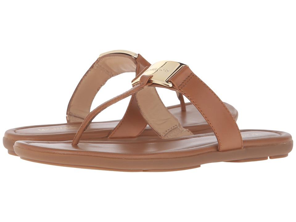 MICHAEL Michael Kors - Colleen Thong (Acorn Vachetta) Women's Shoes