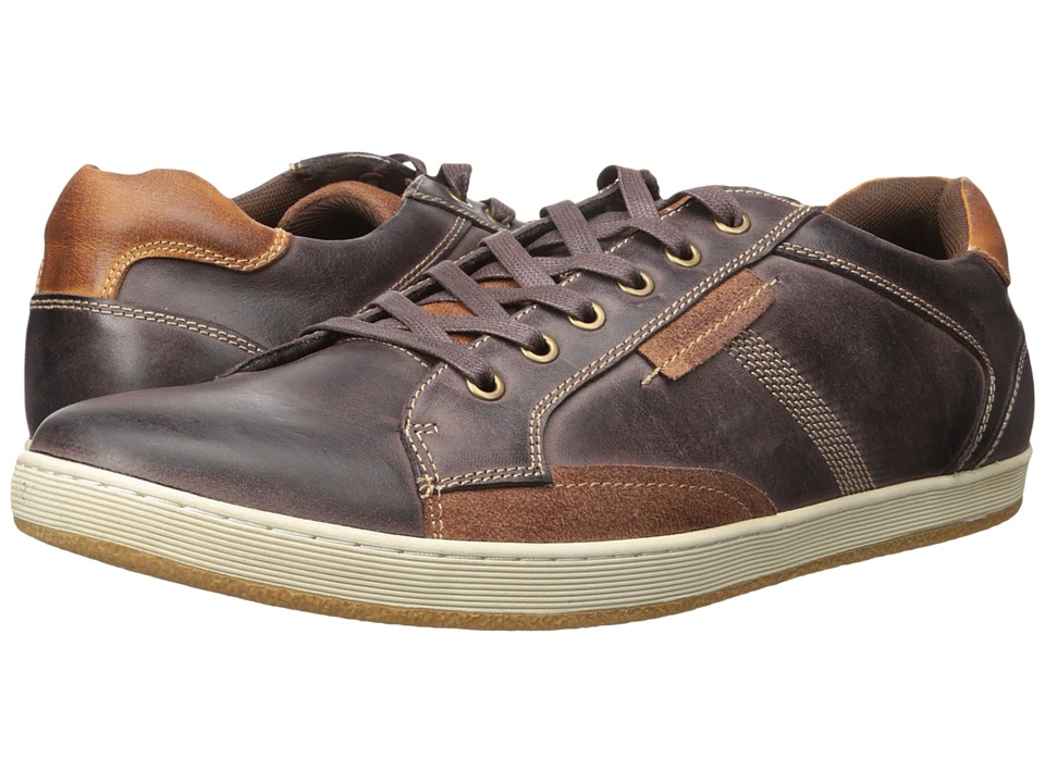 Steve Madden - Pemont1 (Extended Sizes) (Dark Brown) Men's Lace up casual Shoes