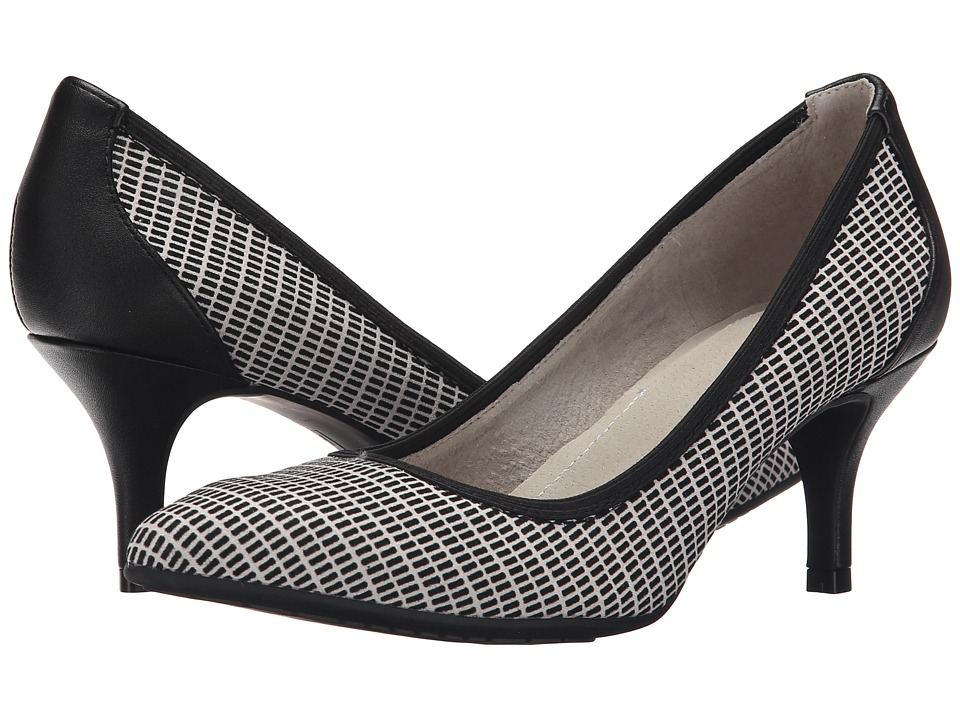 Tahari - Toby (Black/White) High Heels
